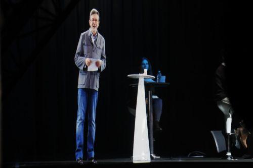 Melenchon hologram